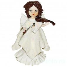 Ангел со скрипкой, в белом