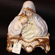 """Бюст """"Мадонна с ребенком"""" 1032BP/PP Porcellane Principe"""