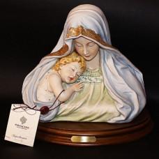 "Бюст ""Мадонна с ребенком"" 1032/PP Porcellane Principe"