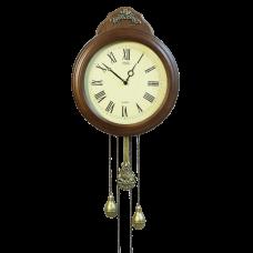Часы классические настенные с маятником Селена