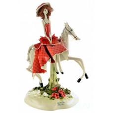 Дама на лошади