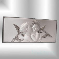 """Декоративное панно """"Ангелы"""" 26х11"""