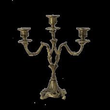 Канделябр Асти 3-х рожковый, антик
