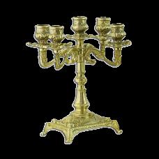 Канделябр Венеция на 5 свечей малый