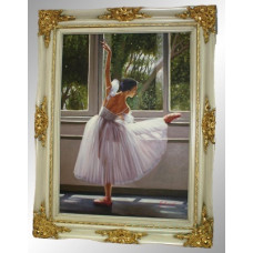 "Картина ""Балерина у станка"""