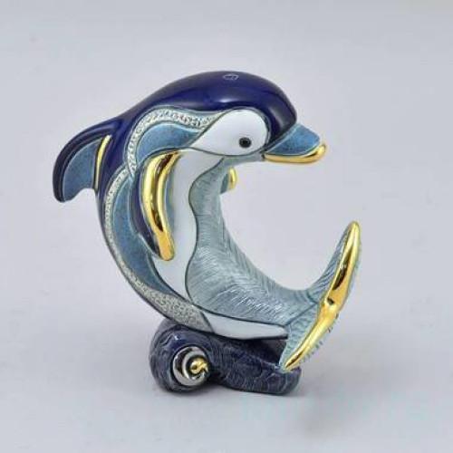 Керамическая статуэтка Дельфин