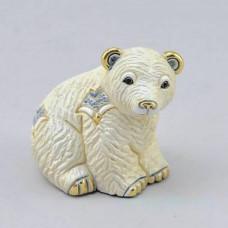 Керамическая статуэтка Медвежонок полярный