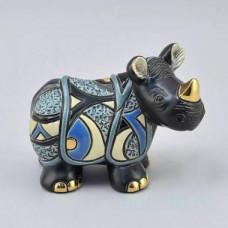 Керамическая статуэтка Яванский носорог