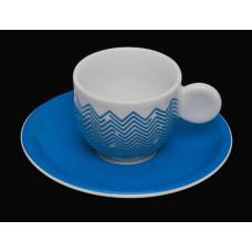 Кофейная пара коллекции AIRONI BLUE