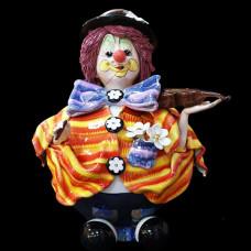 """Копилка """"Клоун со скрипкой"""""""