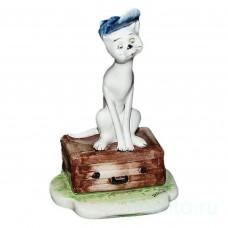 Кот с чемоданом
