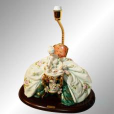 "Лампа ""Читающая дама"" 1035P/PP Porcellane Principe"