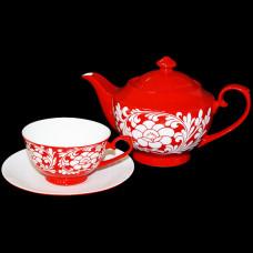 """Набор для чая """"Пионы"""""""