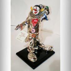"Скульптура ""Клоун с ракеткой"""