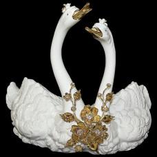 """Скульптура """"Лебединая пара"""""""