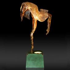 """Скульптура """"Соломея с подсветкой"""""""