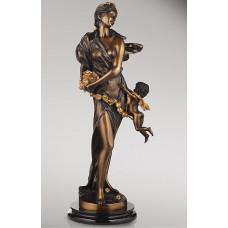"""Скульптура """"Венера и ангел"""""""