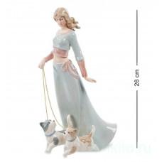 """Статуэтка """"Дама с собаками"""" 102068 Pavone"""