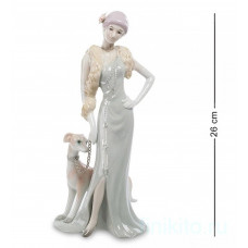 "Статуэтка ""Дама с собакой"" 102069 Pavone"