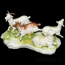 """Статуэтка """"Козы и овцы"""""""