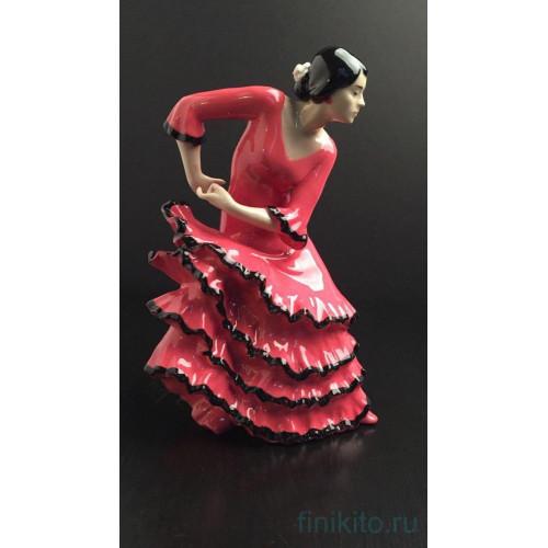 """""""Танцовщица Фламенко"""" статуэтка из фарфора Аlfredo Llorens (Испания)"""