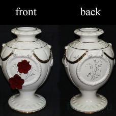 """Ваза """" Красные розы"""""""